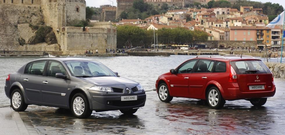 На фото: Renault Megane '2006–10