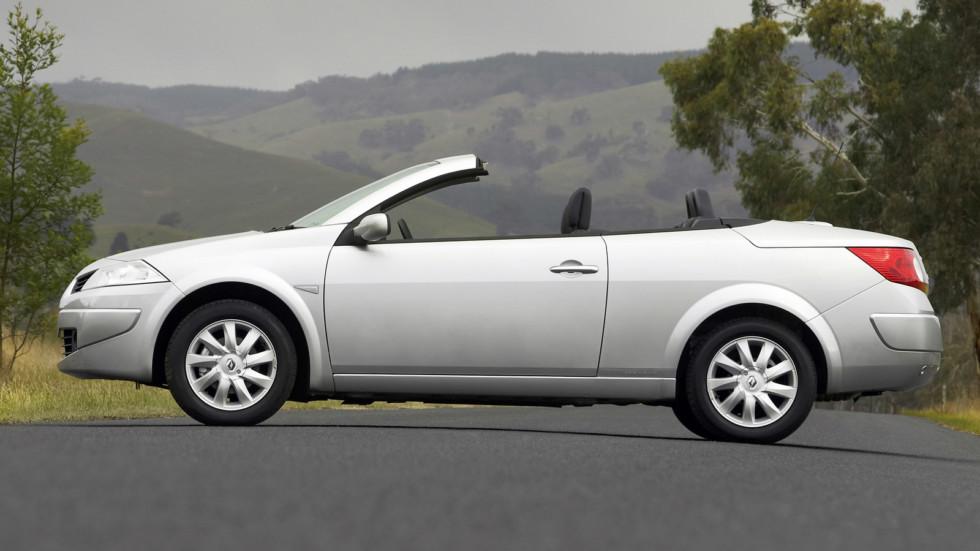 На фото: кабриолет Renault Megane CC '2006–10