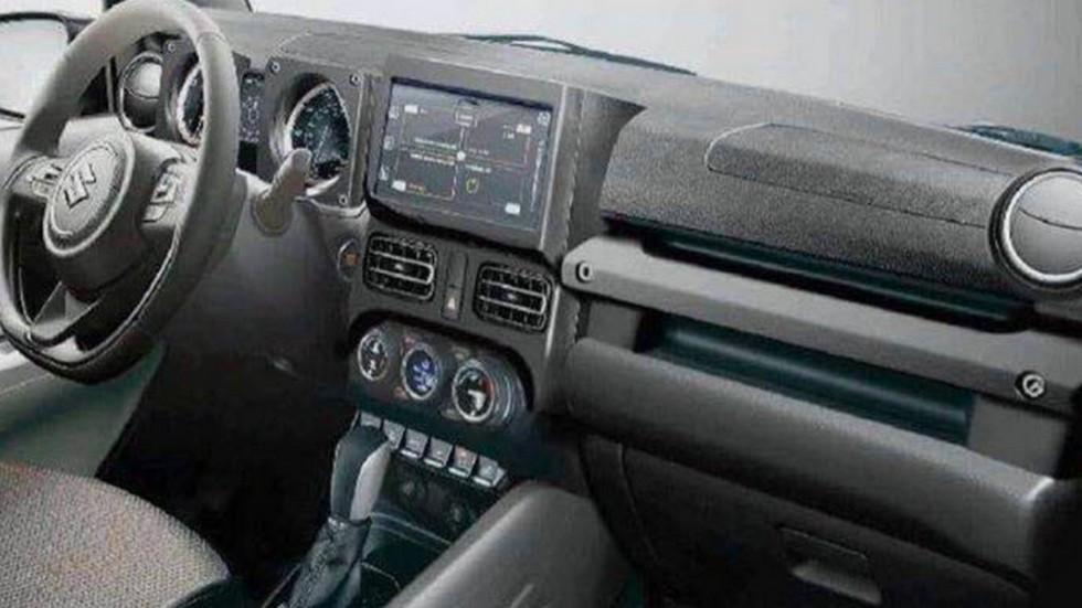 Внешность нового Suzuki Jimny раскрыта на «живых» фото