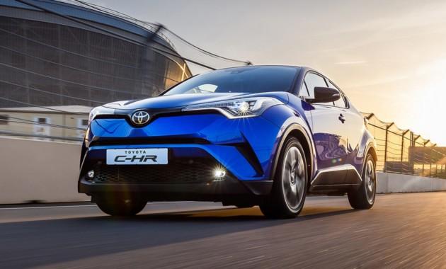 Кроссовер Toyota C-HR выходит на российский рынок