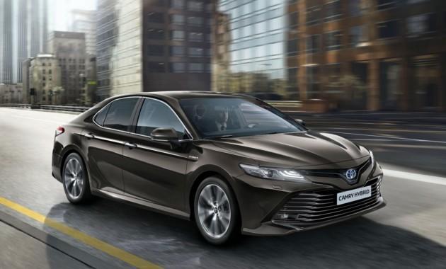 Тоёта Camry возвратится вЕвропу, где заменит Тойота Avensis