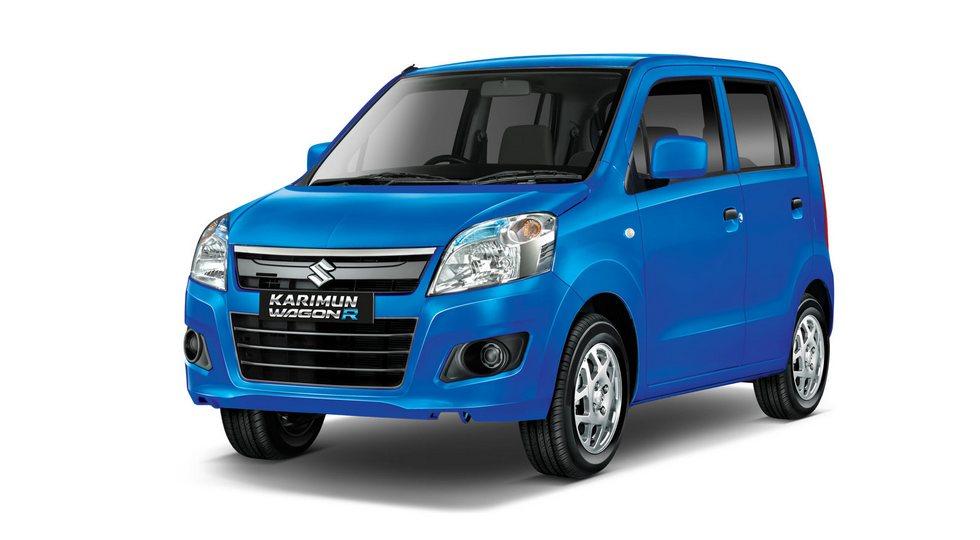 Suzuki Wagon R. На данный момент – это самая маленькая модель марки в Индонезии, ее габариты: 3 600/1 475/1 670 мм, колесная база – 2 400 мм