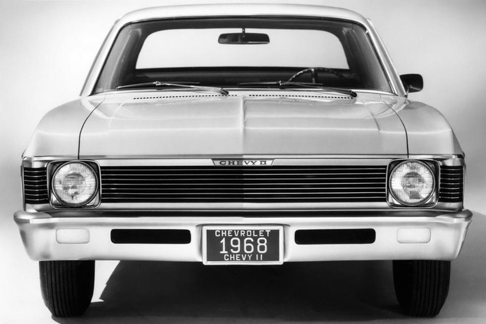 1968 Chevrolet Chevy II Nova 327 Coupe (11427)