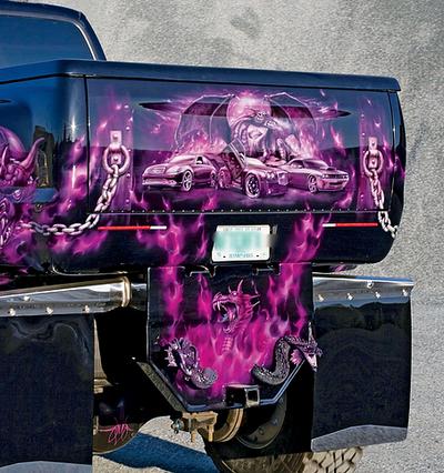 Ford F-650 Critical MASS Audio Truck UL-12