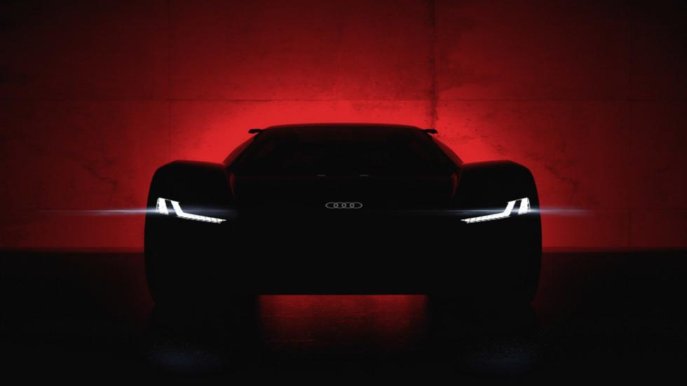 Audi PB 18 e-tron (тизер)