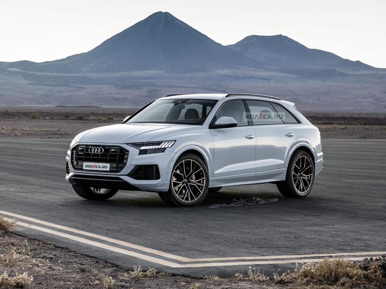 Новый Audi Q9 - Колеса.ру