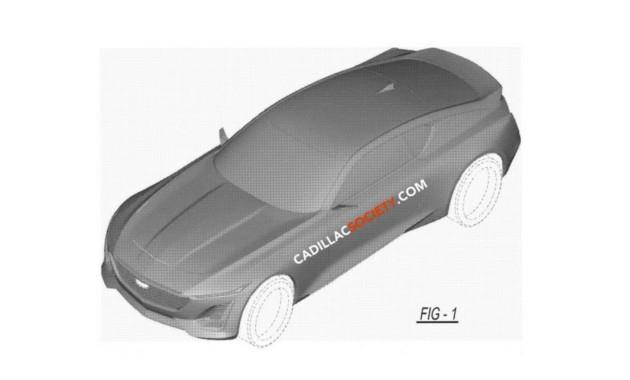 Компания кадилак запатентовала новое шикарное купе