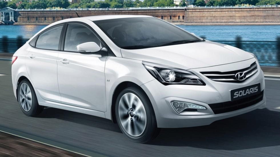Hyundai Solaris (RB) '2014–17жд