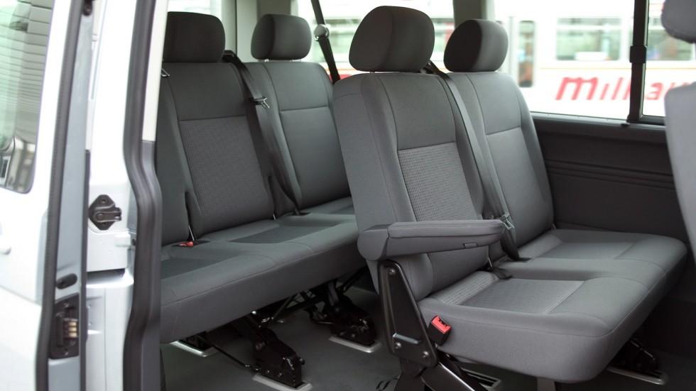 Интерьер Volkswagen Caravelle (T5) '2003–09