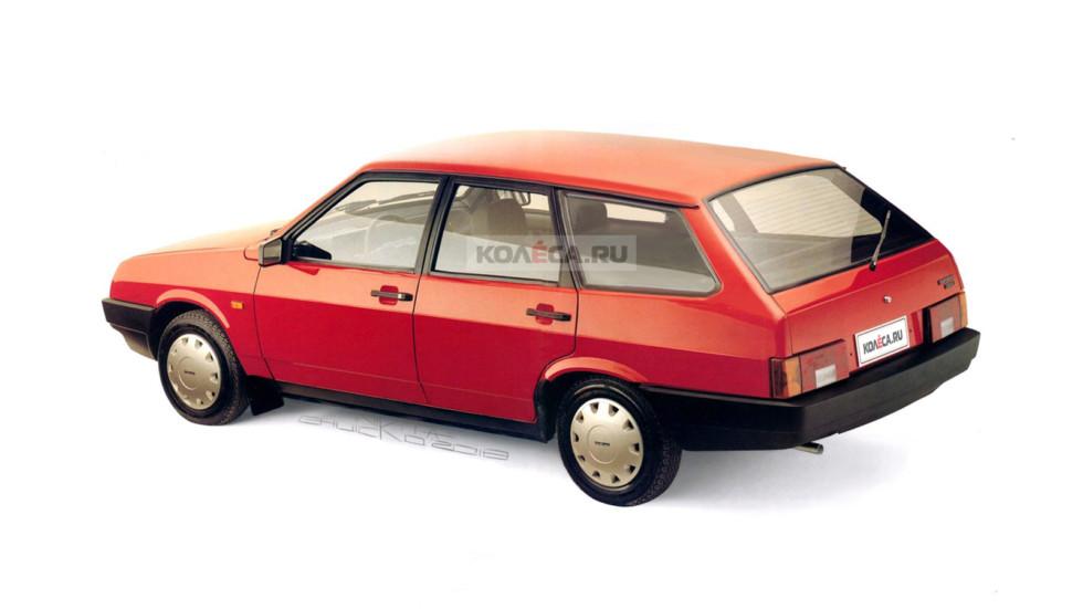 Lada Samara Wagon rear1