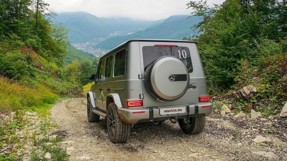 Mercedes-Benz G-Klasse сзади