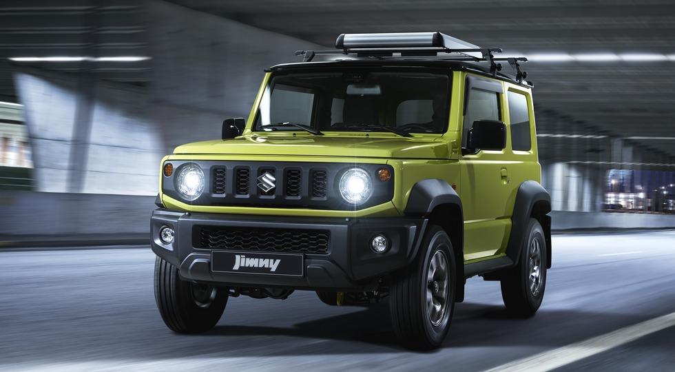 На фото: глобальный Suzuki Jimny нового поколения