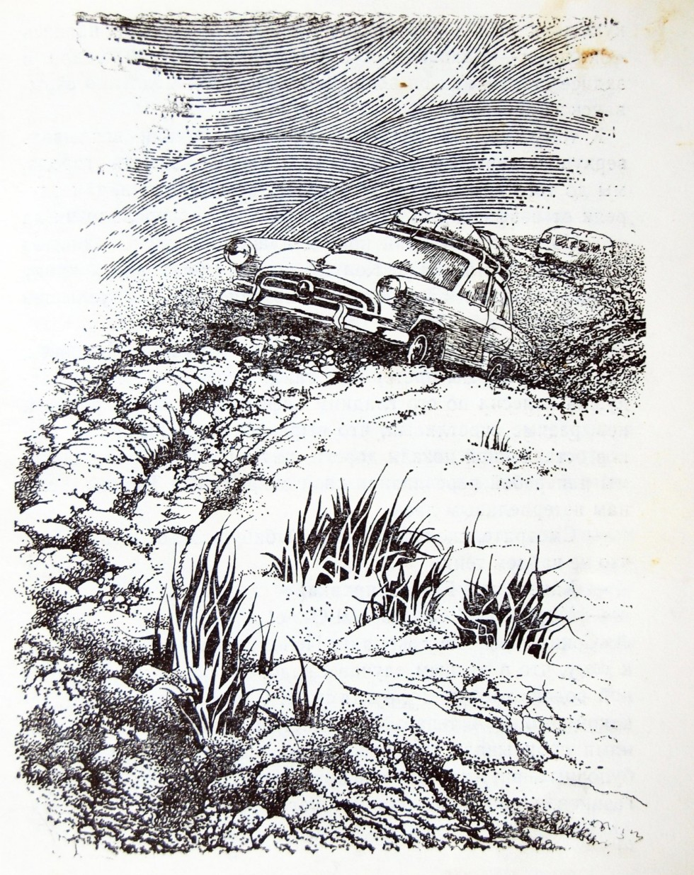Рисунки Михаила Курдюмова