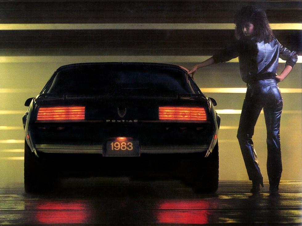 Pontiac Firebird Recaro Trans Am '1982–84с