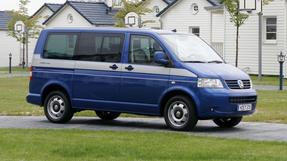 Volkswagen Multivan Startline (T5) '2006–09