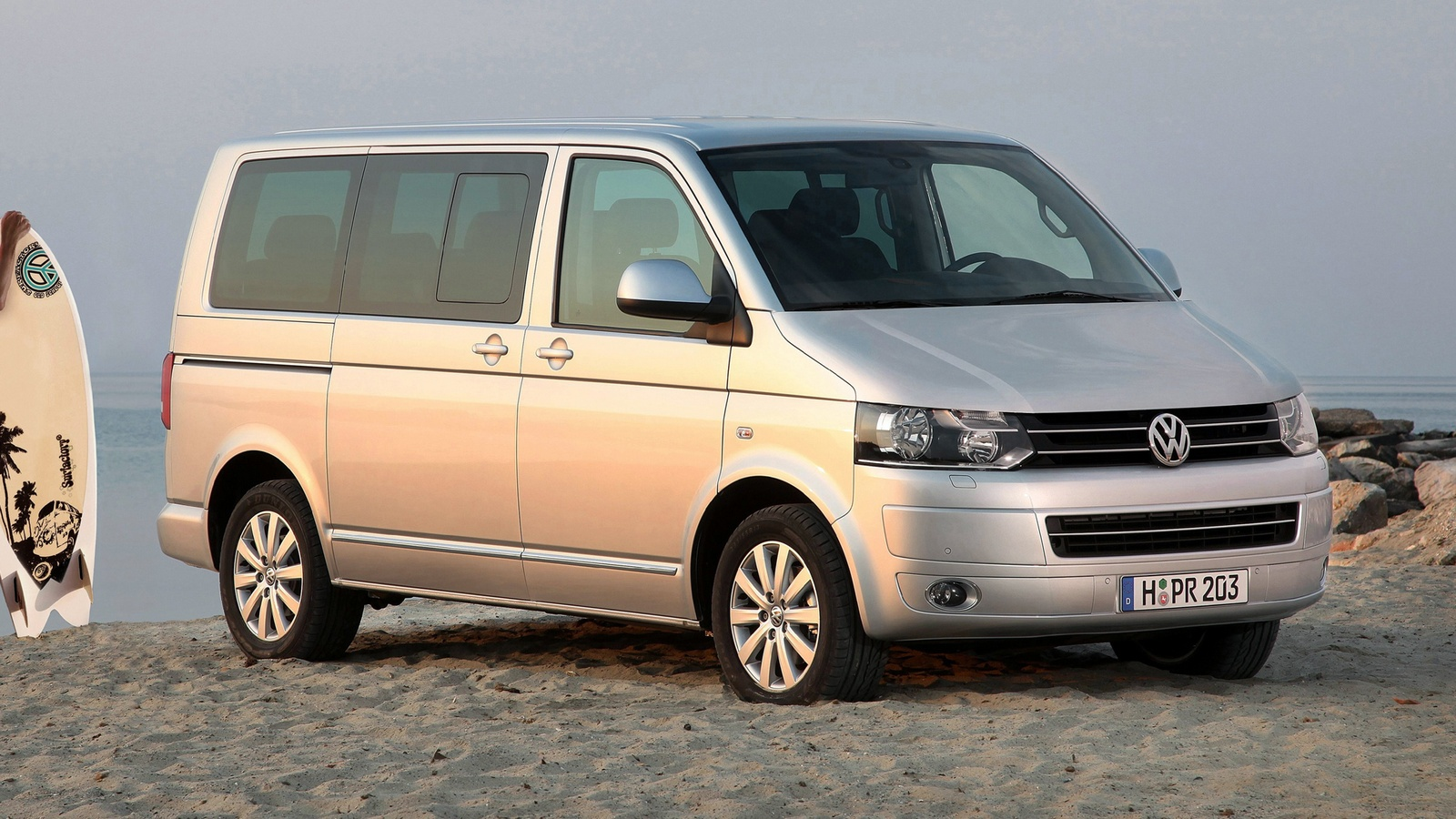 История возникновения и обзор Volkswagen Transporter 5