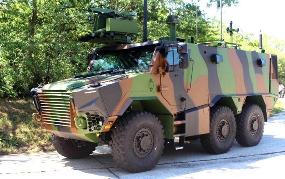 бронеавтомобиль Arquus VBMR Griffon