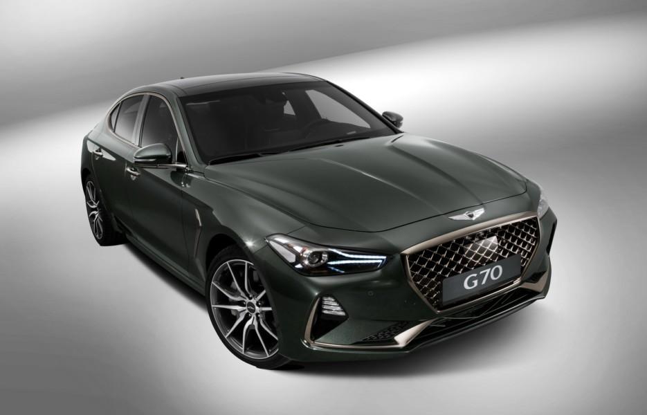 седан G70 стал самой популярной моделью Genesis в россии колесару