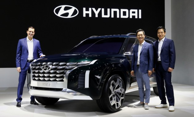 Вседорожный автомобиль Хюндай Palisade может появиться на российском рынке