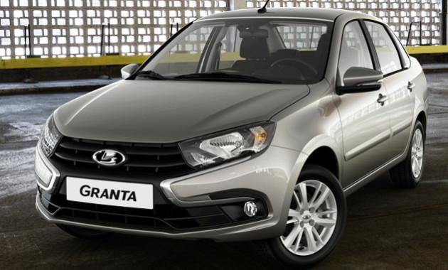 Lada Granta с лицом Весты открывает новое семейство автомобилей