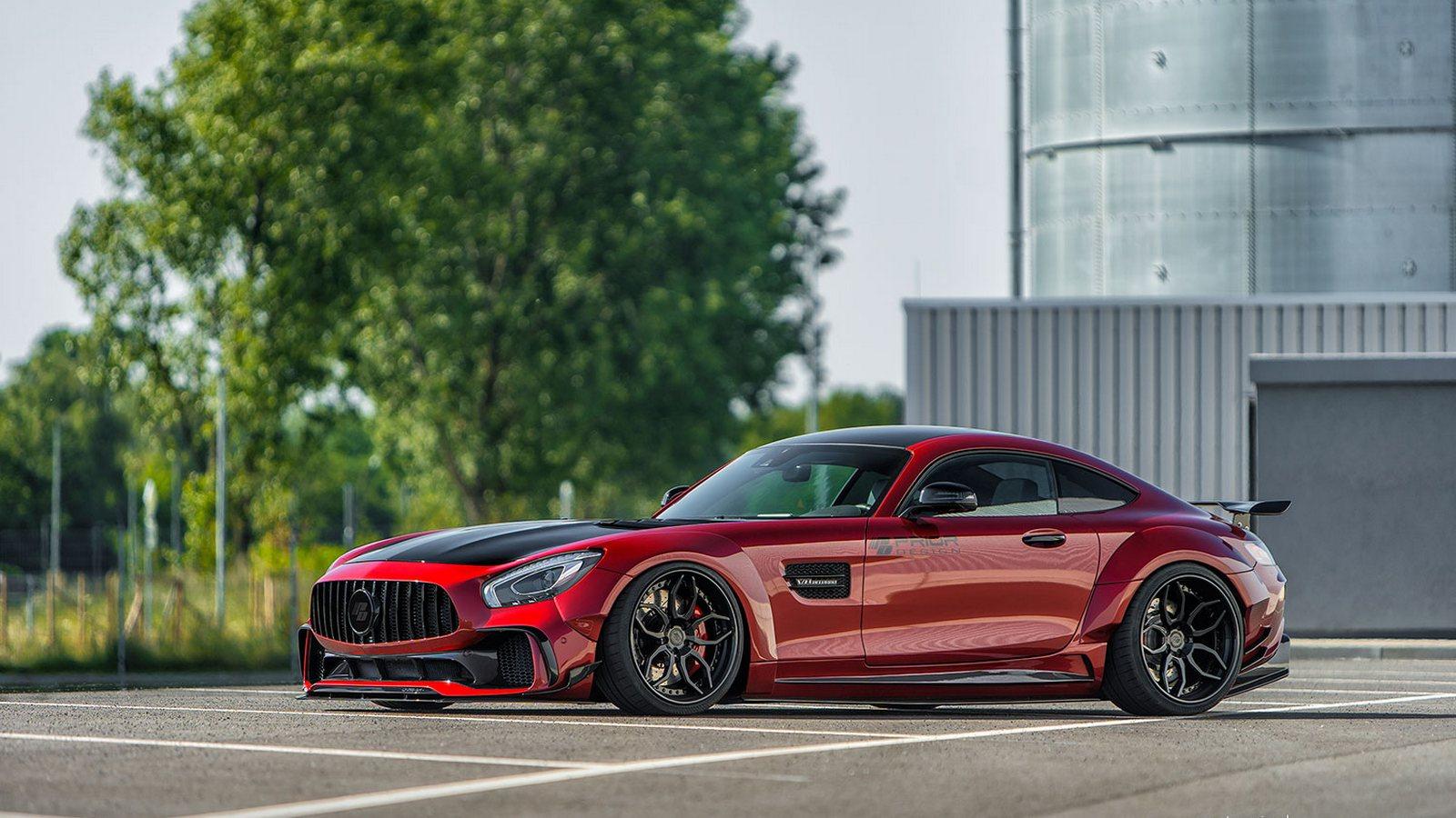 Пакет доработок для Mercedes-AMGGT Sпредставили тюнеры Prior Design