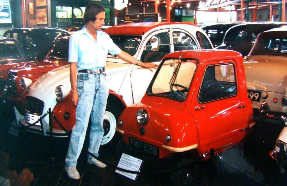 микроавтомобиль Peel-50