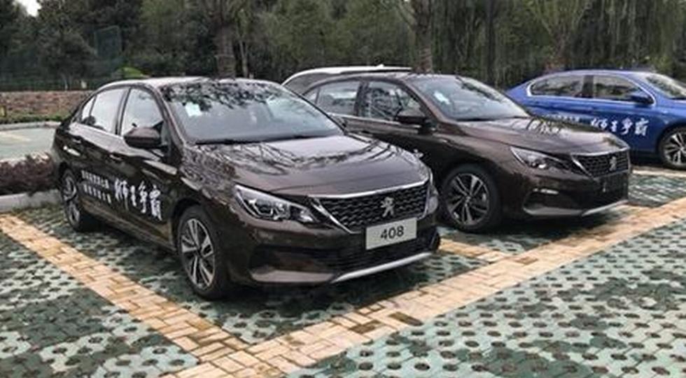 На фото: обновленный Peugeot 408 второго поколения, версия для Китая