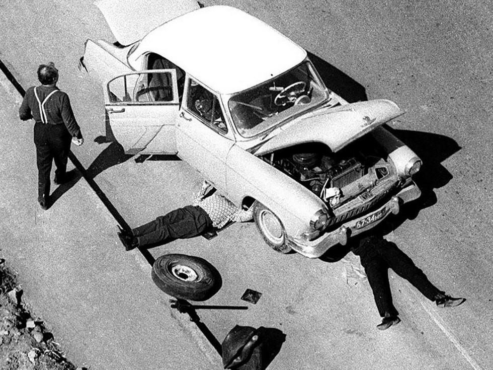 ремонт автомобиля СССР