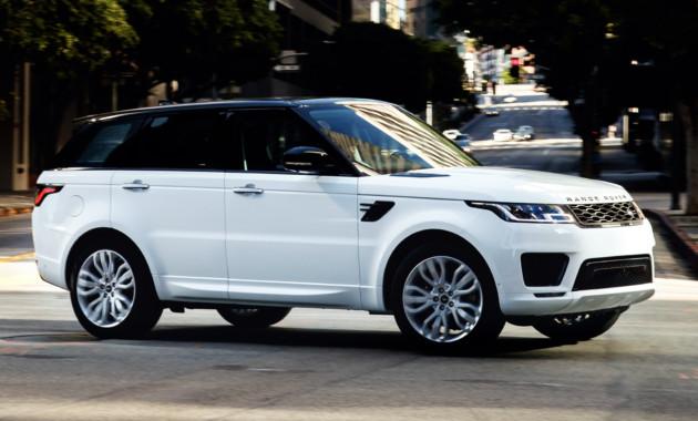 Ленд Ровер обновил Range Rover Sport
