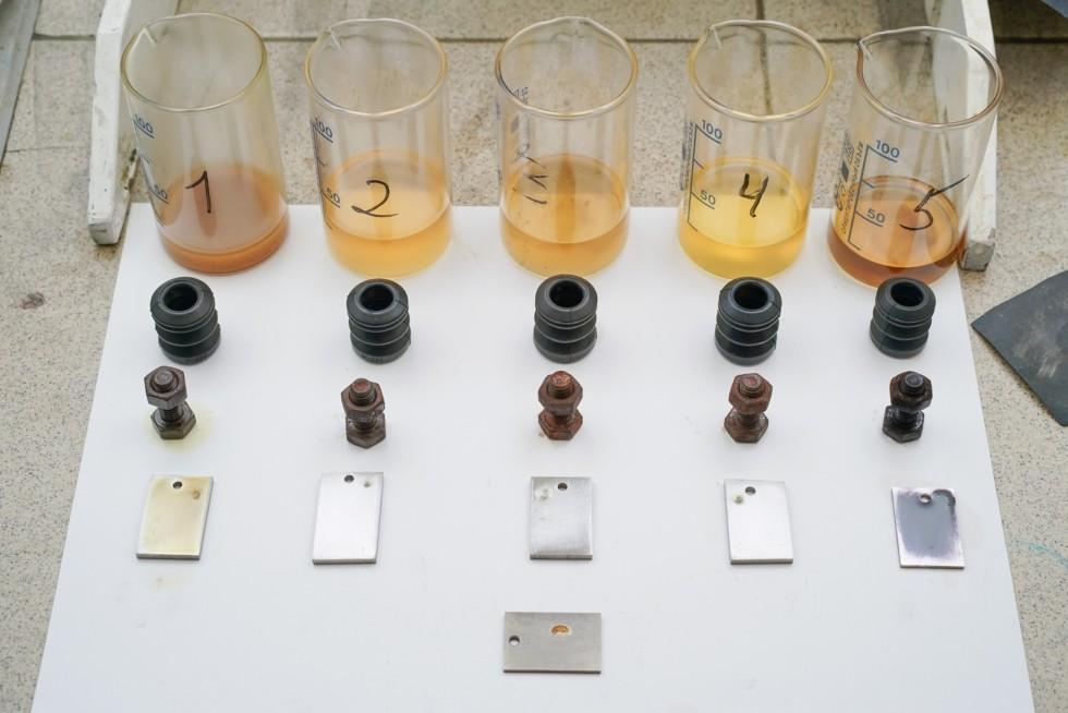 тестирование жидких ключей на коррозию