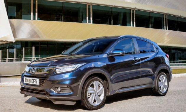 Хонда представила улучшенный кроссовер HR-V для Европы