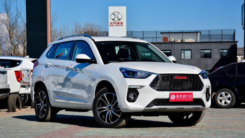 """Haval H6 Coupe с """"красным шильдиком"""" для китайского рынка"""