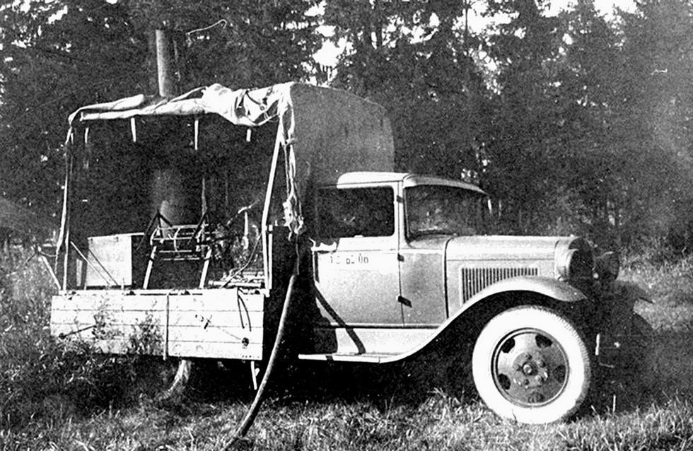Полевая автомобильная душевая для помыва и химической обработки военнослужащих