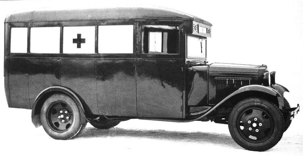 автобус медицинской службы ГАЗ-03-32