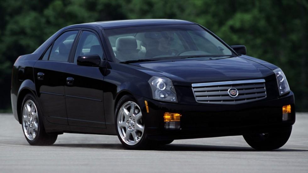 Cadillac CTS North America '2002–07 черный на ходу