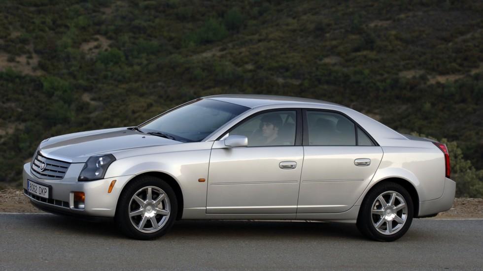 Cadillac CTS Worldwide '2002–07 на ходу