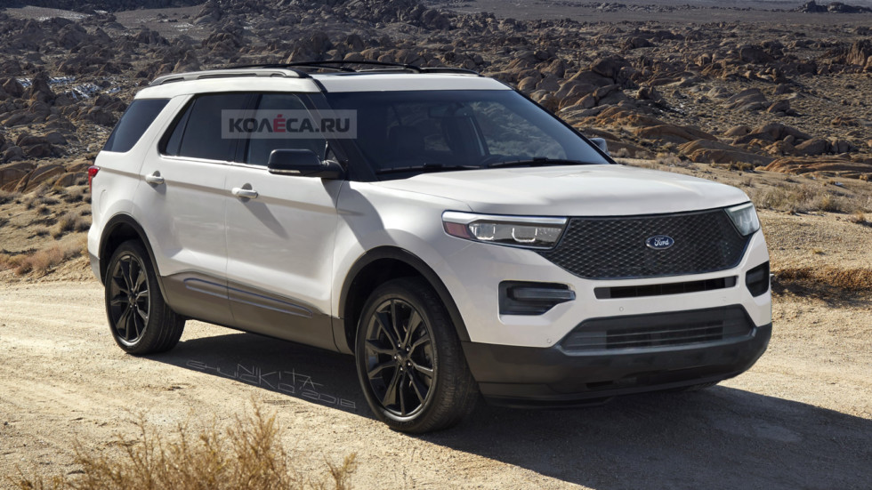 Ford Explorer front2