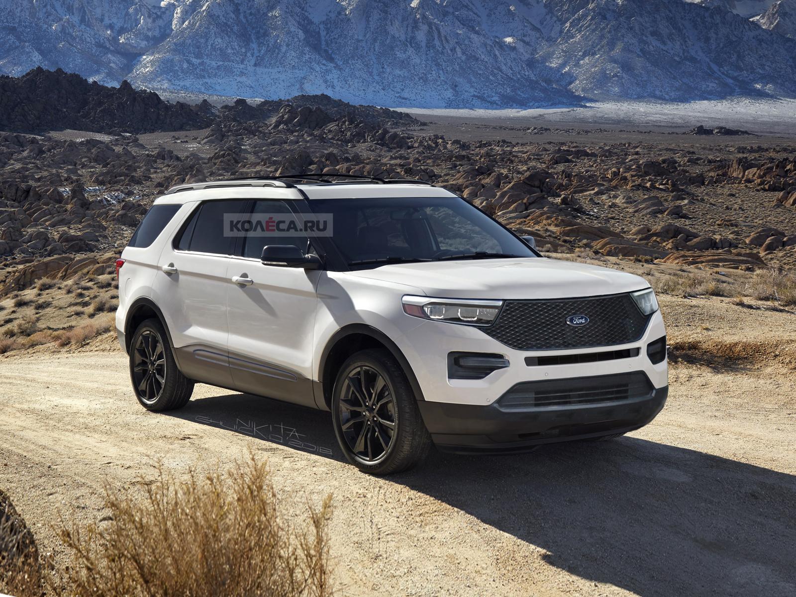 ford explorer новый