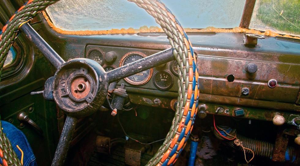 ГАЗ-51-приборная-панель