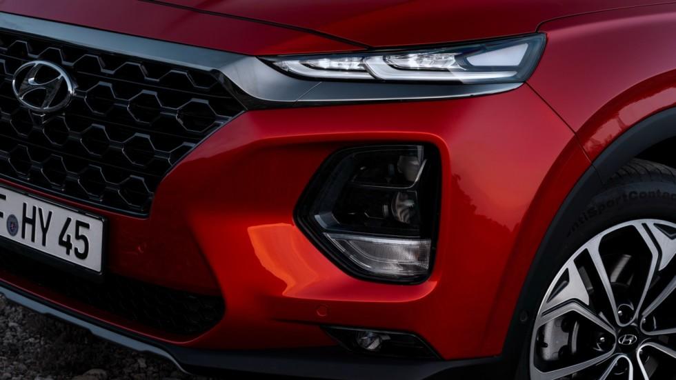 Hyundai Santa Fe Worldwide (TM) '2018 фара