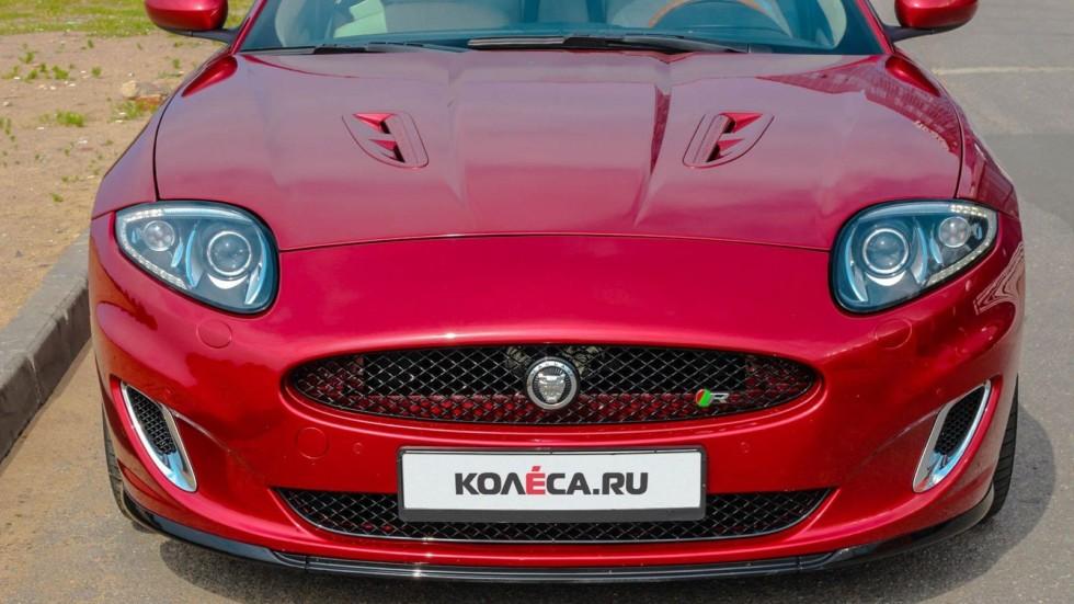 Jaguar XKR красный спереди