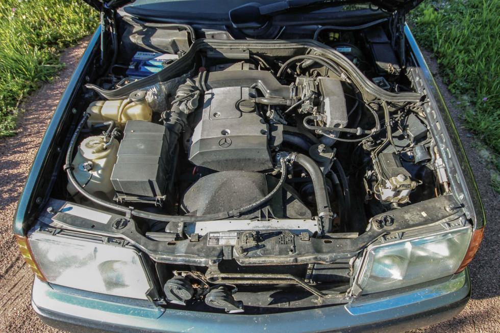 Mercedes-Benz C124 двигатель