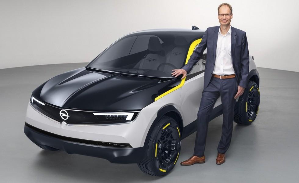 Маленький кроссовер GT X Experimental – предвестник будущих моделей Opel
