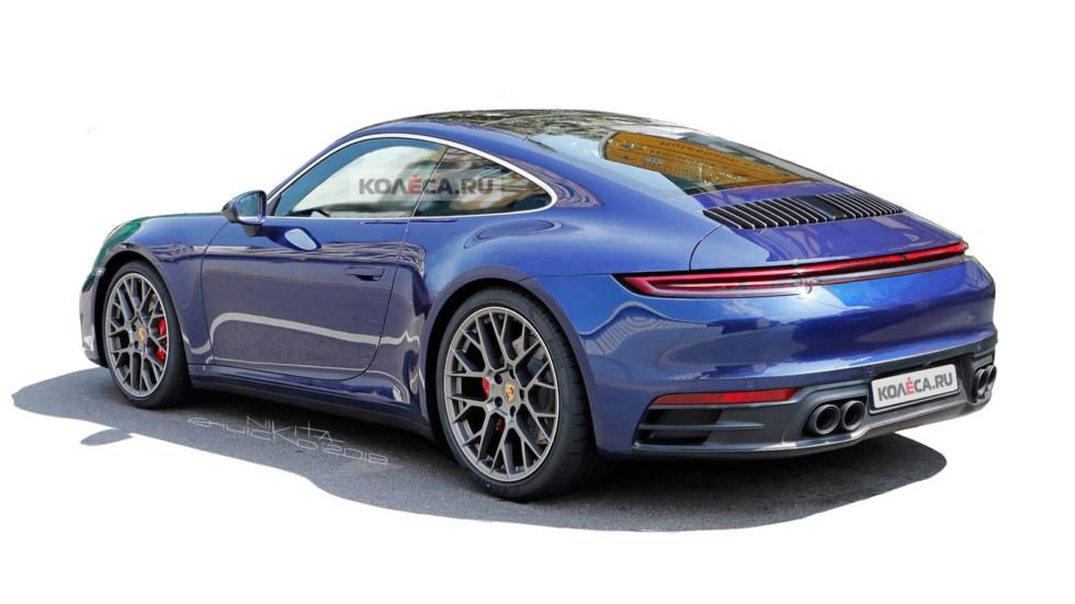 Porsche 911 rear1
