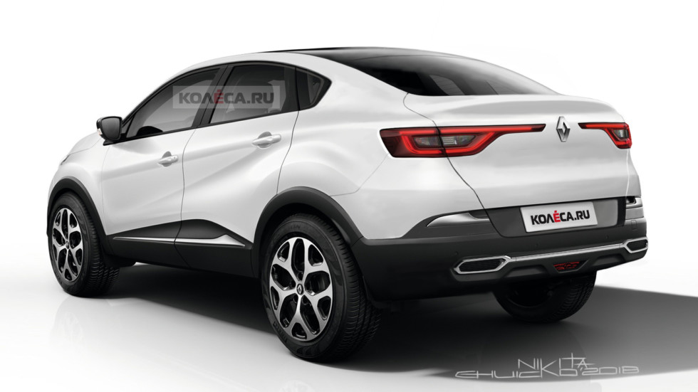 Renault Kaptur Cross rear2