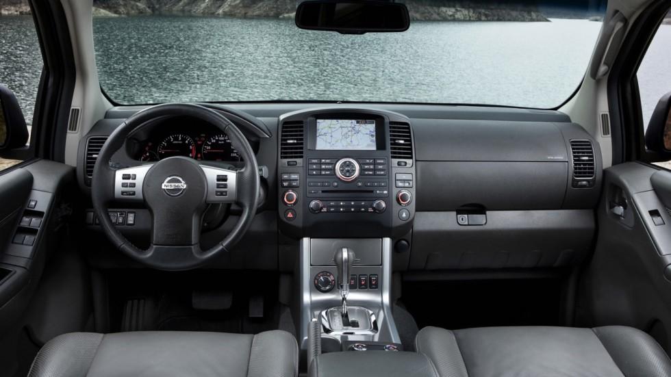 Торпедо Nissan Pathfinder (R51) '2010–14о
