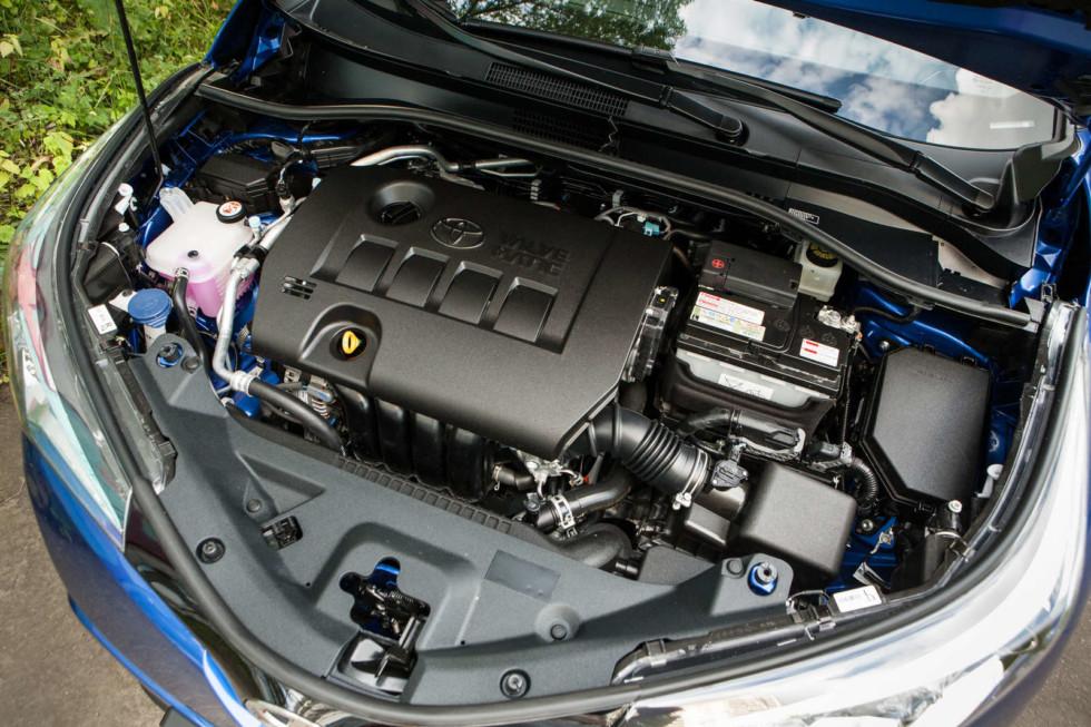 Toyota C-HR двигатель