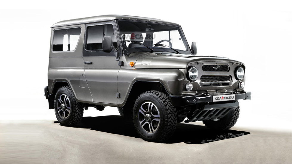 UAZ Hunter 3door front1