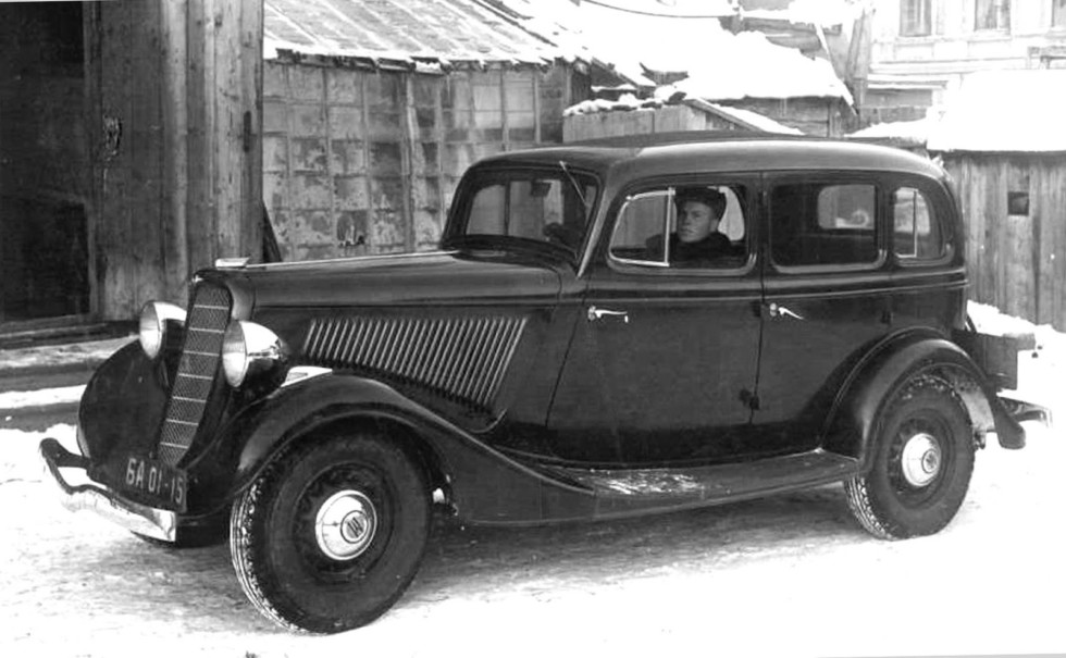 армейские легковушки СССР 11
