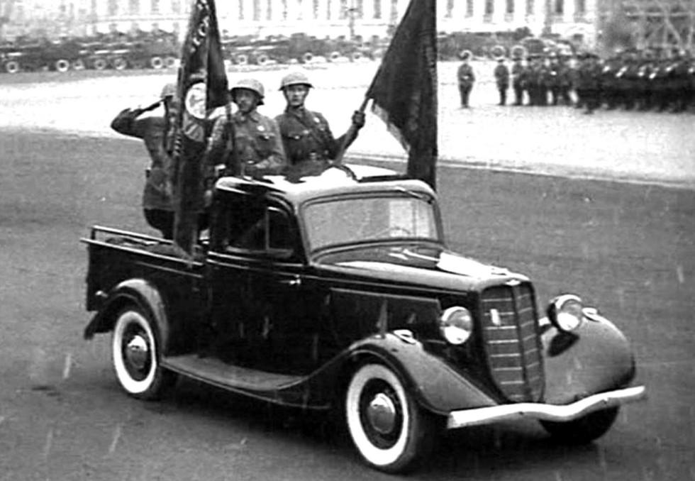 армейские легковушки СССР 14